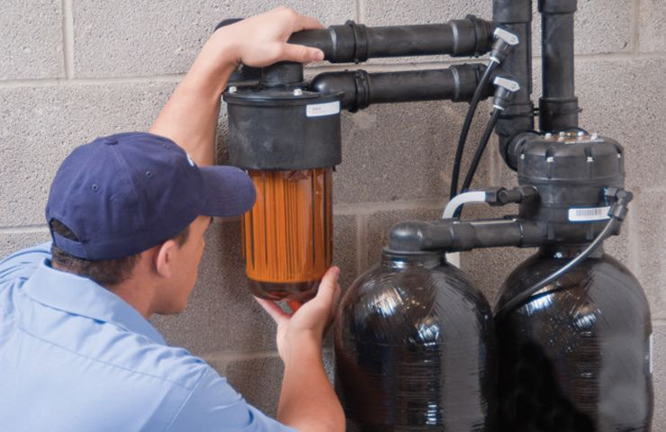 Услуги по сервисному обслуживанию водоподготовки